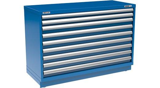 Modular Storage Cabinet   60'' x 24½'' x 40¼'' - Modular Storage Cabinet Metalia
